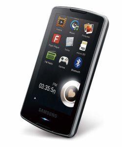 Samsung YP M 1Mp3 Player test