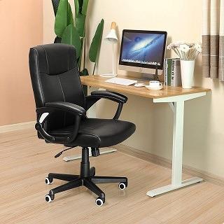 Der OBN81B Chefsessel bietet bequemen Sitzkomfort und erleichtert es, sich dauerhaft aufs Arbeiten zu konzentrieren.