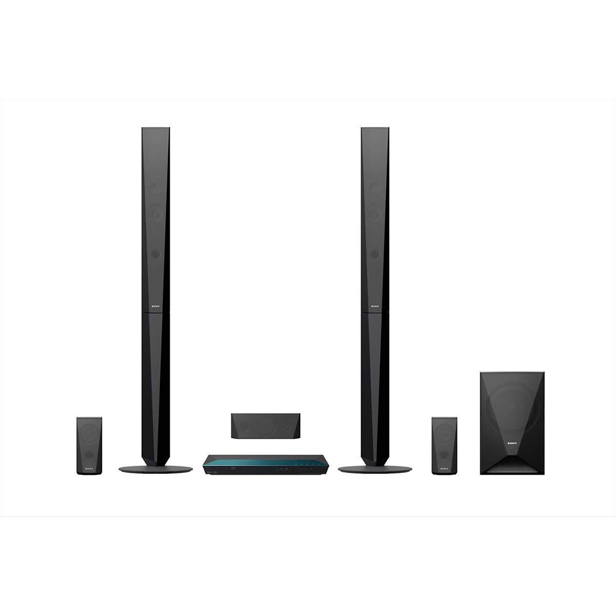 Sony BDV-E4100 Surround System im Fernseher mit WLAN Test