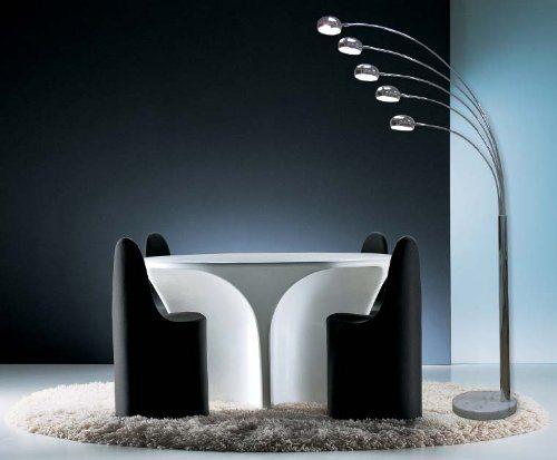 Stehlampe Test - fünf Finger Bogenlampe mit dem modernen Design