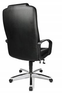 Der Comfort Point 50 Chefsessel verfügt über einen ergonomisch geformten Sitz mit Knierolle Test
