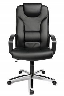 Der Comfort Point 50 Chefsessel ist sehr beqem und hat ein modernes Design Test