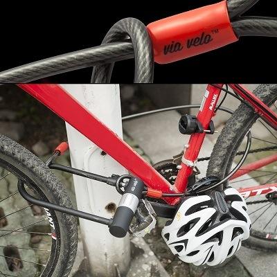 Das Via Velo Fahrradschloss 2 im Test