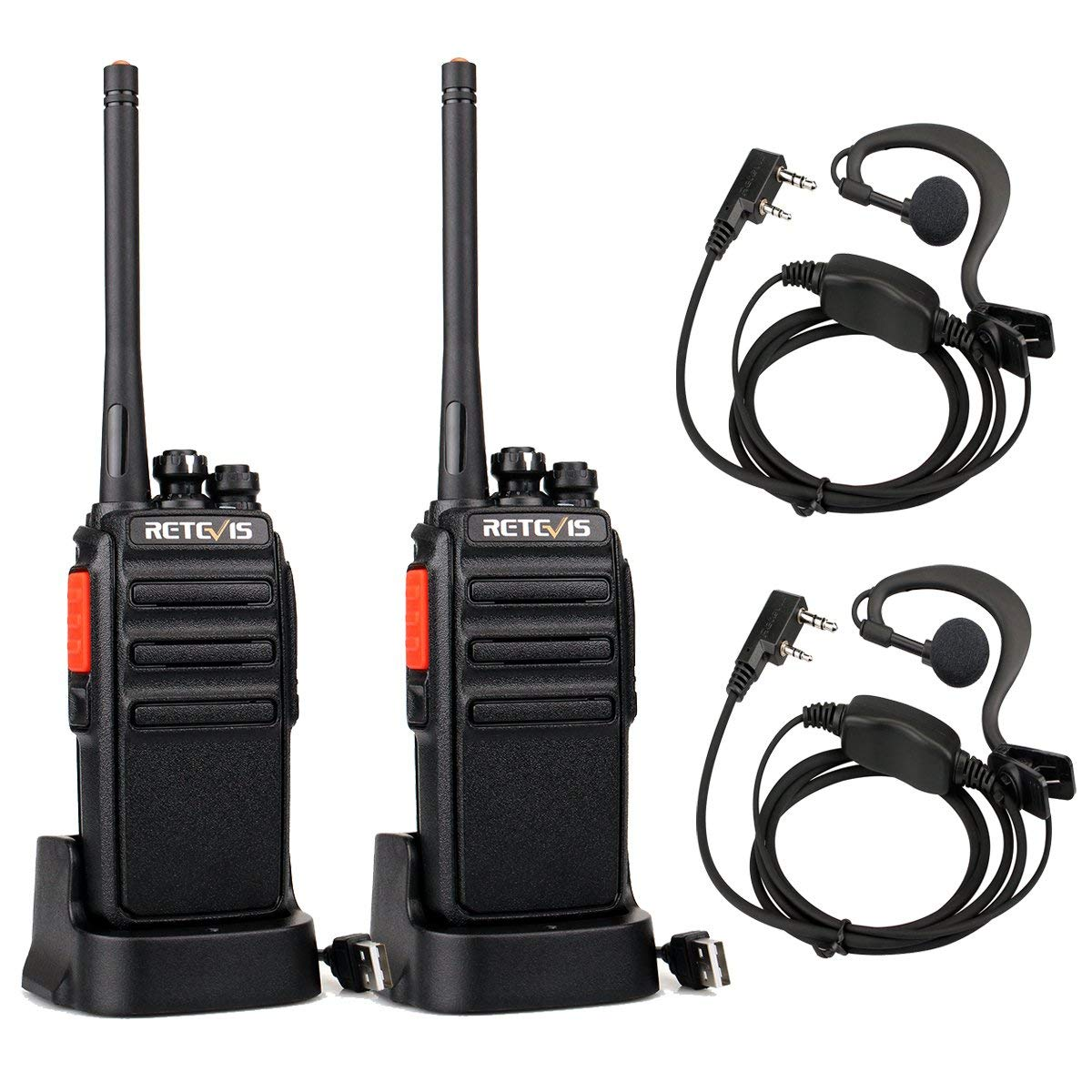 Walkie-talkie Test - Walkie-talkie mit dem Kopfhörer