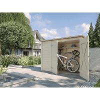 weka Holzbau GmbH Fahrradbox 367.2007.20400 im Test
