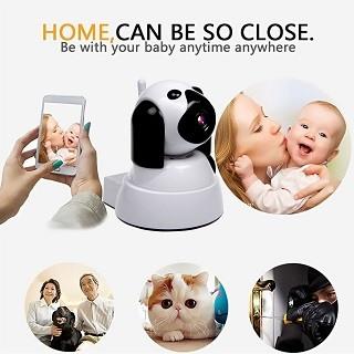 Die Yooan IP Überwachungskamera, Wireless WiFi Kamera 720P Benutzung 2 im Test