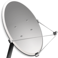 Die optimale Größe der Satellitenschüssel