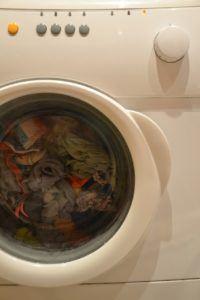 Waschmaschine Ausschnitt