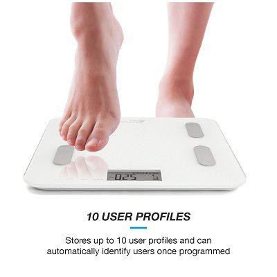 Die Active Era™ Digitale Körperfett-Personenwaage Maximalgewicht im Test