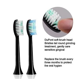 Aiyabrush Elektrische Zahnbürste Kopf im Test