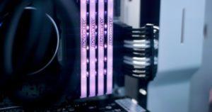 Der DDR4 Ram von Balistix Test