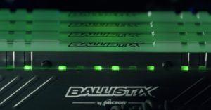 Der Tactical Tracer DDR4 RAM von Ballistix sieht wunderschön aus