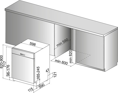 Der Bauknecht BUC 3C26 PF X A Unterbau-Geschirrspüler im Test 5