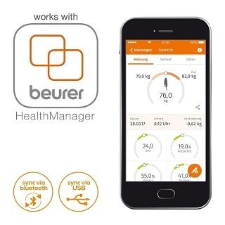 Die Beurer BF 105 Körperfettwaage App im Test