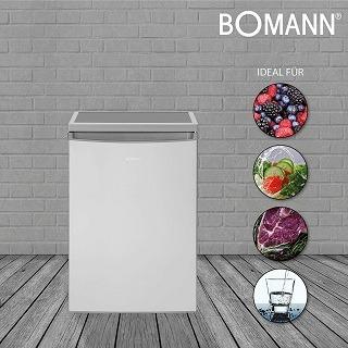 Lebensmittel im Bomann VS 2185 Kühlschrank im Test