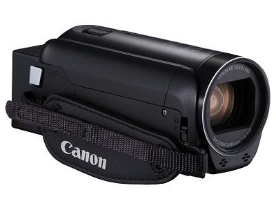 Der Canon Legria HF R806 Camcorder von Seite im Test