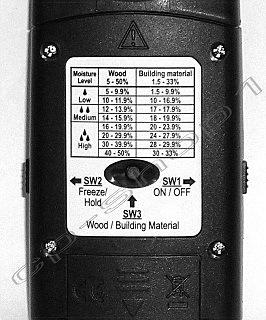 Das Feuchtigkeitsmessgerät mit Speicherfunktion 1.008 von Cp im Test und Vergleich