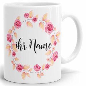 Drucksaal Namenstasse-Tasse-Becher-Kaffeetasse-mit Name