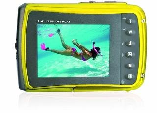 Display Easypix 10014 Unterwasserkamera im Test