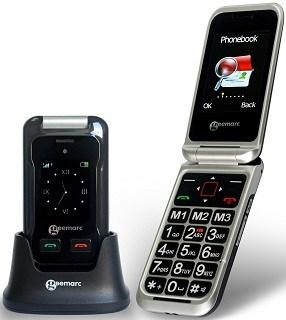 Das Seniorenhandy mit Großtasten von Geemarc Telecom S.A CL8500 im Test und Vergleich bei Expertentesten