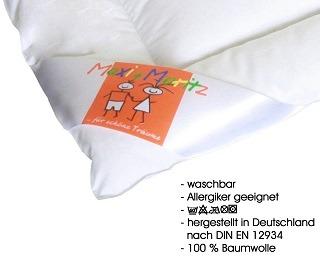 Die Hanskruchen Maxi und Moritz Daunendecke ist von sehr guter Qualität im Test