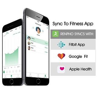 Die Körperfettwaage RENPHO mit APP FitnesApps im Test