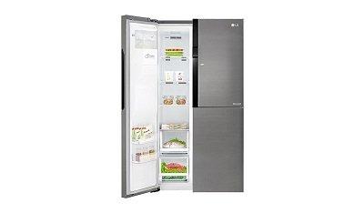 Lg Amerikanischer Kühlschrank Preis : Lg electronics gsj didv side by side kühlschrank im test