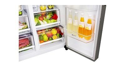 Amerikanischer Kühlschrank Testsieger 2016 : Lg electronics gsj didv side by side kühlschrank im test
