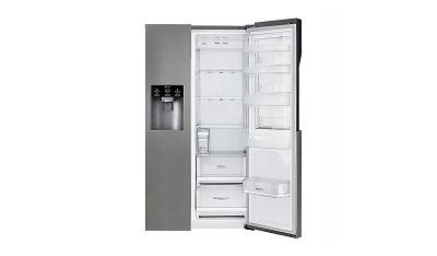 Side By Side Kühlschrank Lg Test : Lg electronics gsj didv side by side kühlschrank im test