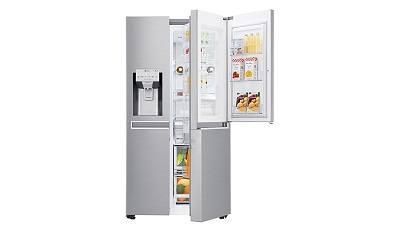 Kühlschrank Lg : Lg electronics gsj nebz side by side kühlschrank im test