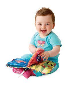 Lamaze Baby Spielzeug Entdeckungsbuch Clip & Go
