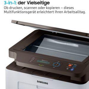 Wie funktioniert ein Laser-Multifunktionsdrucker im Test?