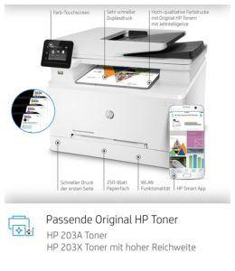 Welche Arten von Laser-Multifunktionsdrucker gibt es in einem Test?