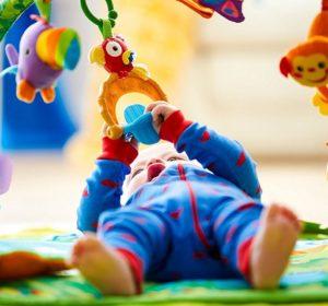Mattel Fisher-Price K4562 Rainforest Erlebnisdecke Baby 4 Monate