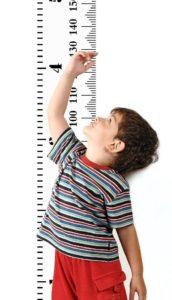 Mibote Messlatte für Kinder Wand Höhe
