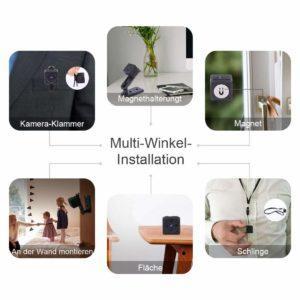 Vorteile & Anwendungsbereiche aus einem Mini U¨berwachungskamera Test