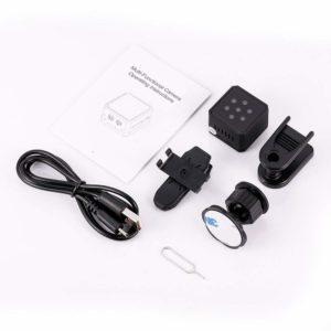 Nützliches Zubehör aus einem Mini Überwachungskamera Test