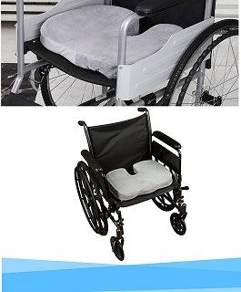 Rollstuhl mit Mipies Sitzkissen im Test
