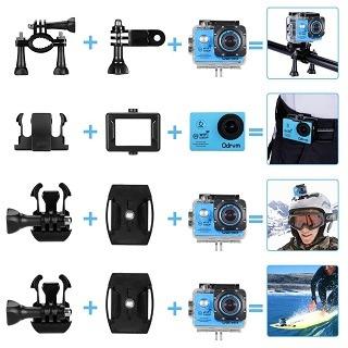 Bedienung von ODRWM Unterwasserkamera im Test
