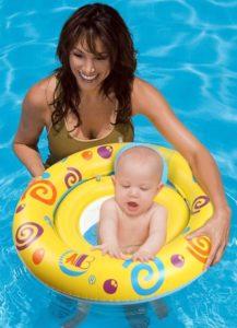 OWUDE Baby Schwimmring mit Sitz