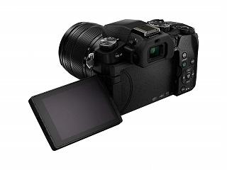 Das Display der DMC-G81MEG-K Lumix G Spiegelreflexkamera ist 3 Zoll groß Test