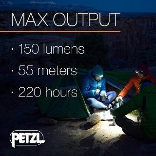 Die Stirnlampe mit 220 Stunden max. Leuchtdauer von Petzl Tikkina im Test und Vergleich bei Expertentesten