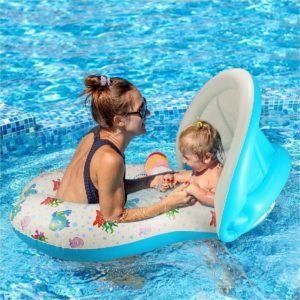 Qilerongrong Baby Schwimmsitz Schwimmhilfe