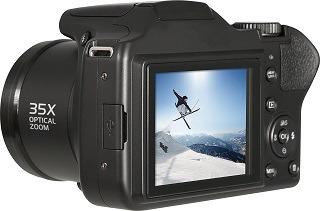 Die Powerflex 350 Spiegelreflexkamera ist von hoher Qualität Test