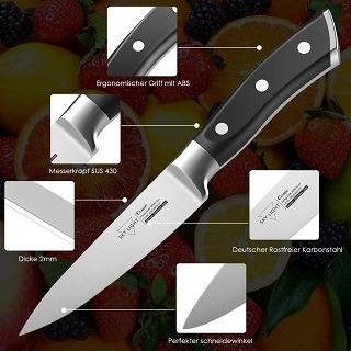 Das Küchenmesser mit lebenslangen Garantie von SKY LIGHT C-6254-UK im Test und Vergleich bei Expertentesten