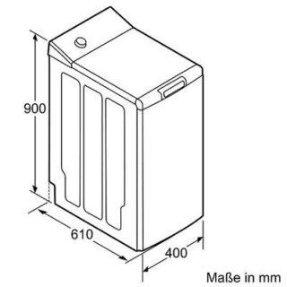 Abmessungen der Siemens WP12T447 iQ500 Waschmaschine im Test