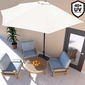 Sonnenschirm Test - Balkonsonnenschirm