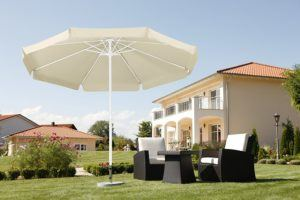 Sonnenschirm Test - Material und Bespannung eines Sonnenschirms