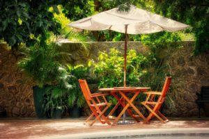 Sonnenschirm Test - Sonnenschirme im privaten Außenbereich