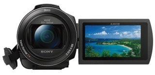 Der Sony FDR-AX53 4K Ultra HD Camcorder Display im Test